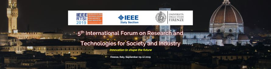 IEEE RTSI 2019 - 5th International Forum on Research and